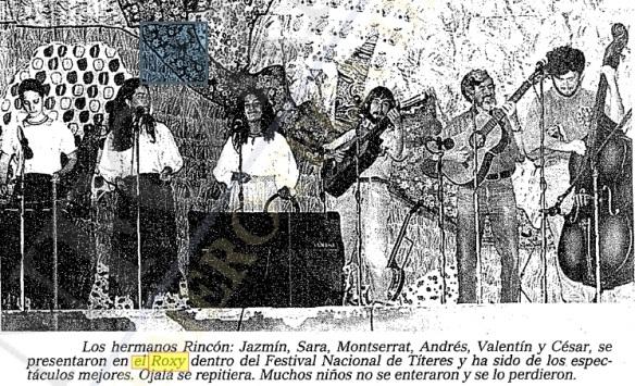 A pesar de la fama, también se realizaban eventos infantiles. El Informador 21/JUN/1993
