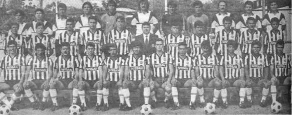 El Guadalajara en 1989 con Ricardo La Volpe como director técnico. Foto facebook.com/Datos.Chivas