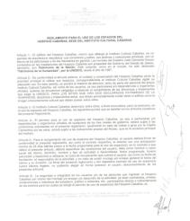 Haz clic aquí para consultar el Reglamento para el uso de los espacios del Hospicio Cabañas, sede del Instituto Cultural Cabañas